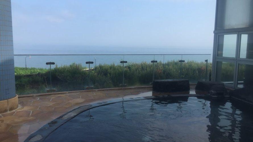雄武町オホーツク温泉ホテル日の出岬と紋別市海鮮遊食Rinのホタテ